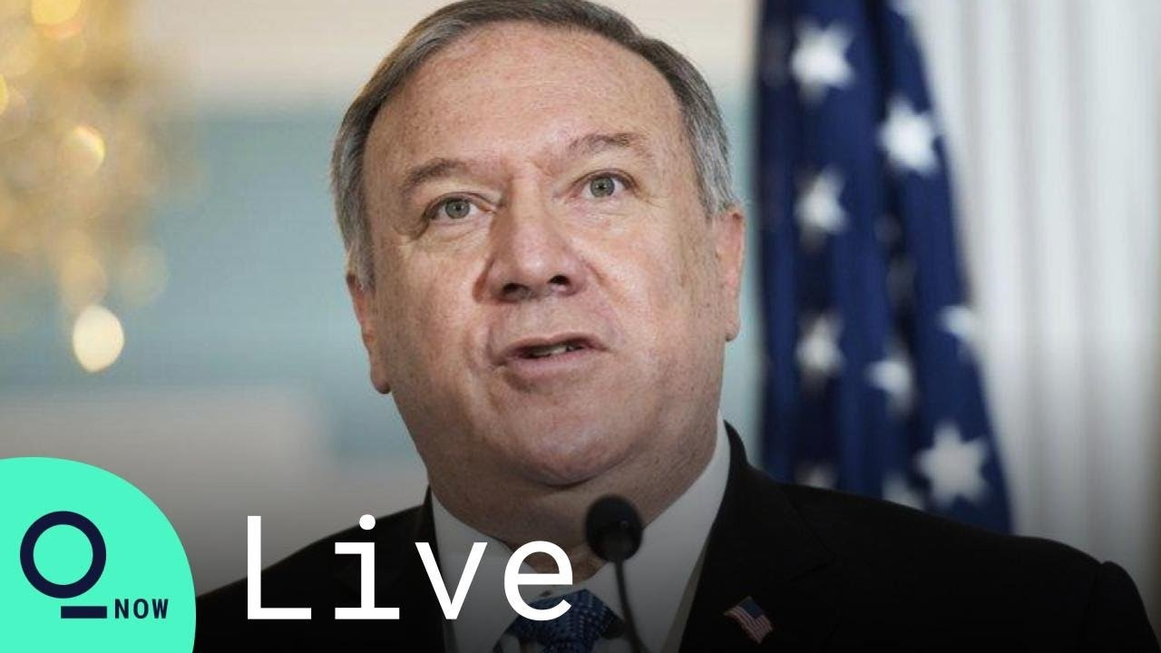 LIVE: U.S. Secretary of State Mike Pompeo Speaks at Voice of ...
