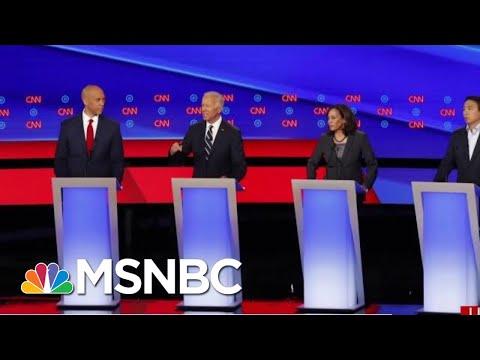 Former VP Joe Biden Delivers Fair Performance As Candidates Pile On | Morning Joe | MSNBC
