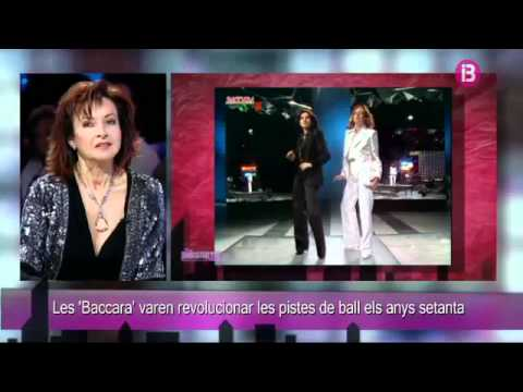 """Mayte Mateos of Baccara interviewed on """" IB3 in programm """"FER DISSABTE"""". Part 1"""