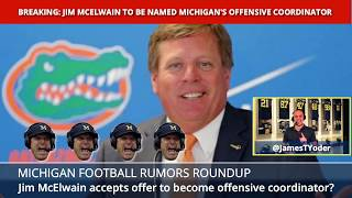 Jim McElwain Is Michigan's New Offensive Coordinator - What It Means For Drevno/Pep & Shea Patterson