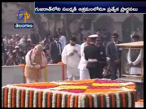 Nation Remembers Mahatma Gandhi On His 68th Death Anniversary
