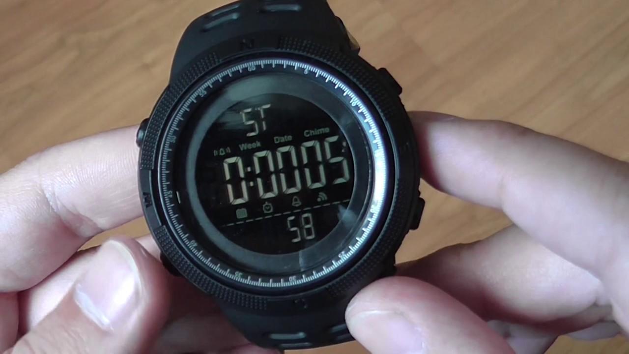 Наручные часы Skmei 1251 за 600 руб - YouTube 54b90ad4c979c