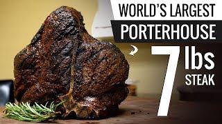 Download WORLD's LARGEST Bistecca Fiorentina Sous Vide - Porterhouse Steak T-Bone Mp3 and Videos