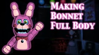 (FNAF | Speed Edit) Making Bonnet Full body
