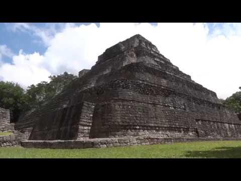 Tour of the Chacchoben Mayan Ruins near Costa Maya Mexico