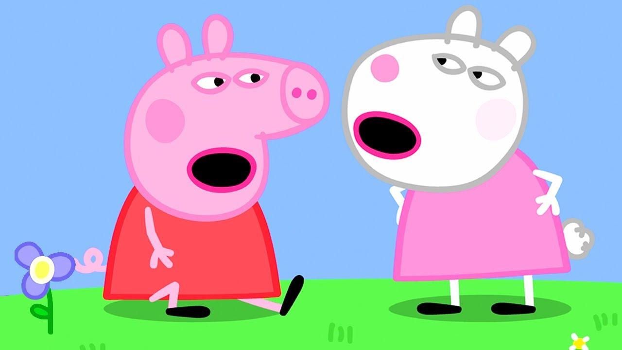 Peppa Pig Português Brasil   Suzy Vai Embora   Desenhos Animados