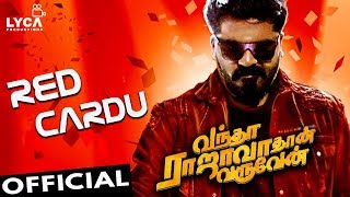 Simbu Arrives with Red Cardu | Vandha Rajavathaan Varuven First Single | Hot News