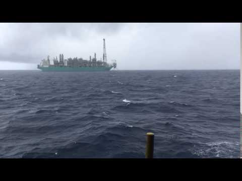 Bintulu, Sarawak offshore Petronas First FLNG named PFLNG