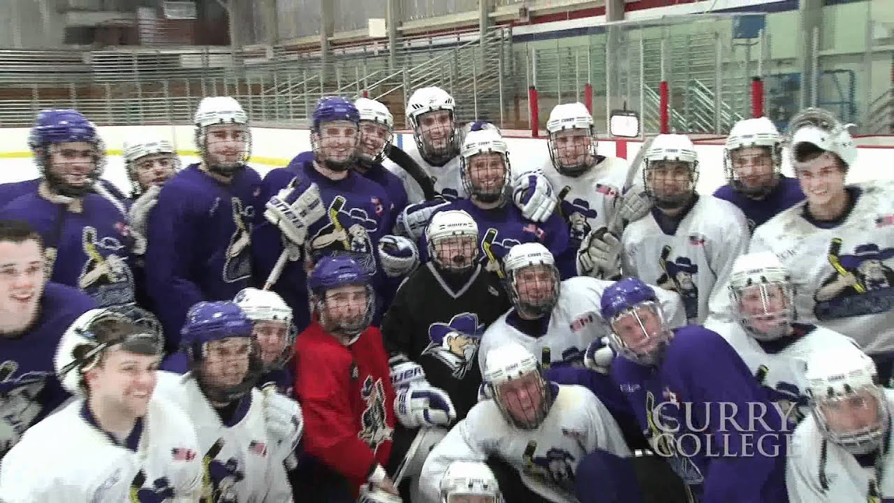 Curry College Hockey Team Names 12 Year Old Sean Bennett Honorary