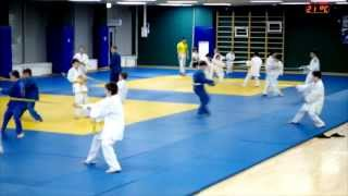 Judo for children Часть№2 .Упражнения. Дзюдо для детей.(Тренировка у детей по дзюдо в клубе