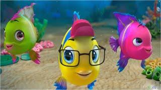 Liên Khúc Cá Vàng Bơi - Nhạc Thiếu Nhi Vui Nhộn - Kênh Bé Yêu