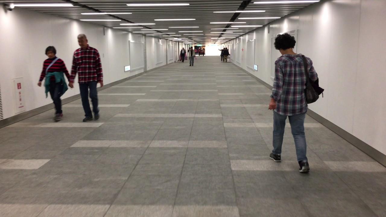 桃園機場捷運 A1臺北車站 轉乘 臺北捷運板南線臺北車站 路程景 Taoyuan International Airport MRT - YouTube