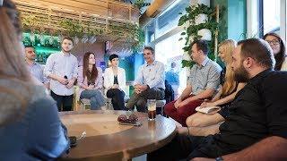 Συζήτηση του Κυριάκου Μητσοτάκη με νέους στη Θεσσαλονίκη