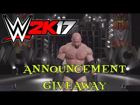 Download WWE 2K17 -MY CAREER MODE (CRAZY GIVEAWAY ANNOUNCEMENT) PS4/XBOX1