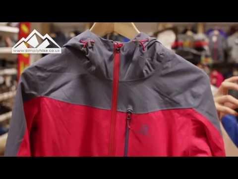 Yhdysvaltain halpa myynti kuuluisa merkki paras valinta Salomon Womens La Cote Jacket - www.simplyhike.co.uk - YouTube
