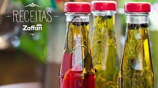 Azeites Aromatizados – Receitas Zaffari