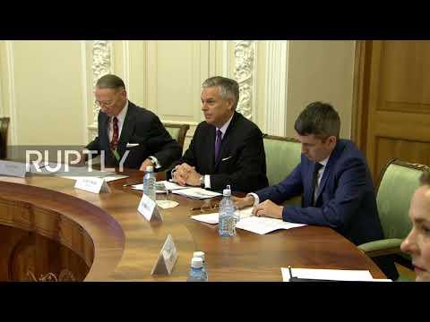 Russia: Governor of Sverdlovsk meets US Ambassador