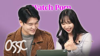 Korean Girls Try To Watch Adult Movie With Adult Movie Star screenshot 1