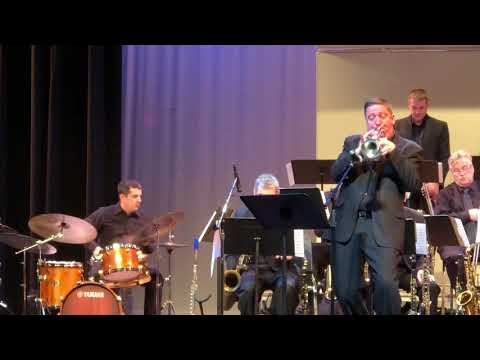 Jeff Holmes Big Band performs at the MAJE State Finals