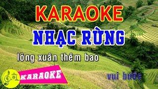 Nhạc Rừng Karaoke    Beat Chuẩn