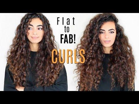 big voluminous long curly hair