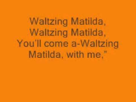 Waltzing matilda backing track 0001