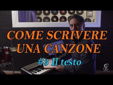 SCRIVERE UNA CANZONE PASSO PASSO – #3 Il testo - Vediamo come inserire il testo nella musica