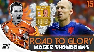 ROAD TO GLORY WAGER MATCHES NETHERLANDS   ROBBEN! #14   FIFA 14 UT