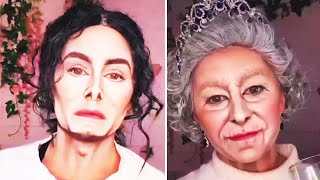 Talentierter Make-up-Artist verwandelt sich in bekannte Stars