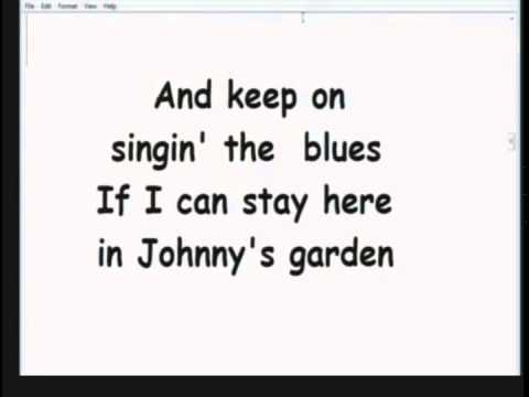 Johnny's Garden - Home Made Karaoke From KIRBY