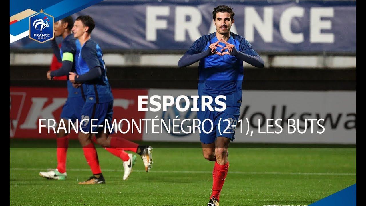Франция U-21 - Черногория U-21 2:1 видео