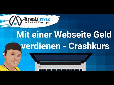 Geld Mit Webseiten Verdienen