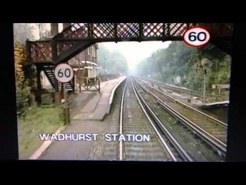 Tonbridge to Hastings (1 of 3) - British Rail crew training video