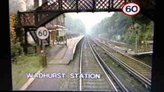 Tonbridge to Hastings (1 of 3) - British Rail crew training video