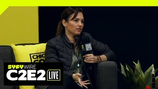 Amy Jo Johnson: From Pink Power Ranger To Director | C2E2 2019 | SYFY WIRE