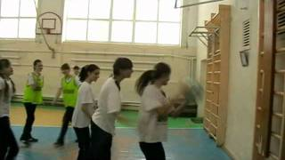 Конкурсный урок физкультуры