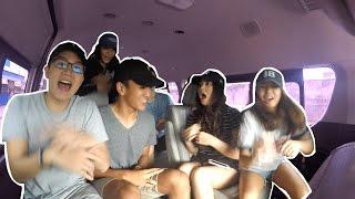 Craziest Carpool Karaoke/Danceoke!!! (Fetty Wap, Juju, Coldplay, 24k) | Janina Vela