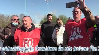 Les salariés du site SKF d'Avallon, nouvelle grève illimitée.