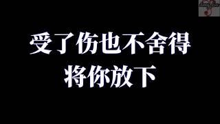 🎵❤大欢一首【太傻】好听伤感情歌【歌词版lyrics】