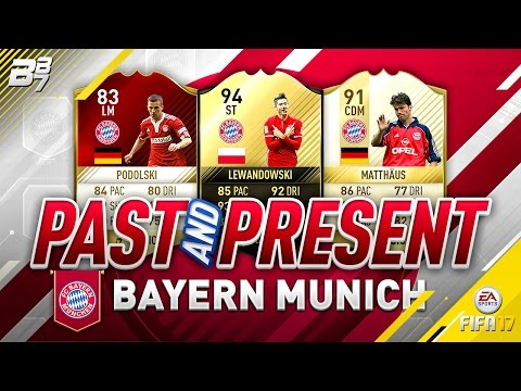 PAST AND PRESENT BAYERN MUNICH SQUAD BUILDER! | FIFA 17 ULTIMATE TEAM