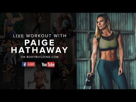 Paige Hathaway Live Workout + Q&A