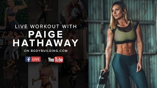 Paige Hathaway Live Workout + Q&A