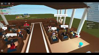 (I joined my friend and this happened...) ROBLOX Wedding interrupeted by the ROBLOX admin