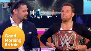 Joe Swash Tries to Take Roman Reigns