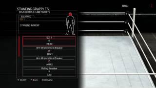 WWE 2K17:Lince Dorado moveset(Xbox 360/PS3)