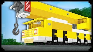 ✔ Minecraft: How to make a Crane Truck