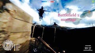 Battlefield 1 Montage - PC gameplay ultra settings       باتلفيلد 1 مونتاج على البي سي
