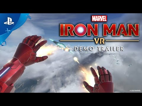 Marvel's Iron Man VR – Demo Trailer | PS VR