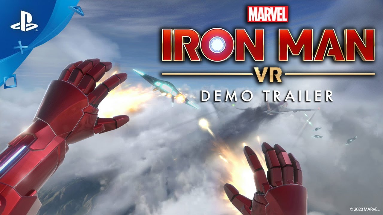 Iron Man VR Demo Out Today on PS4