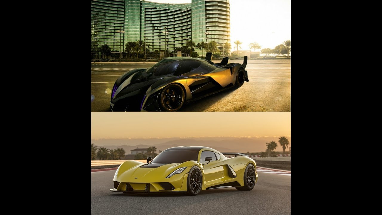 Fastest Cars In The World 2018 Devil Sixteen Vs